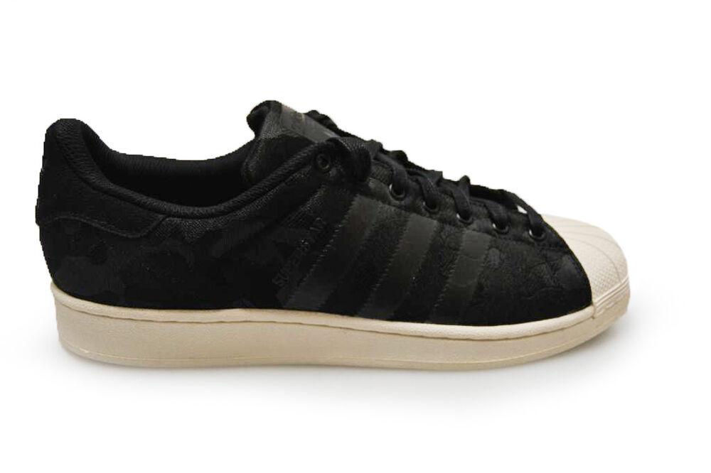 Adidas Superstar pour homme Weave-AQ6745-Noir Blanc Baskets-