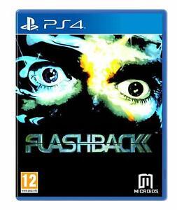 FLASHBACK-Limited-Edition-Playstation-4-PS4-NUOVO-SIGILLATO