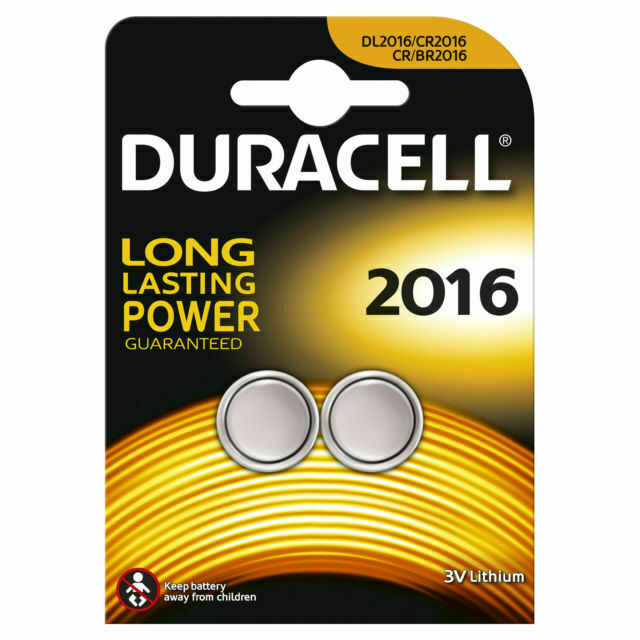 Duracell cr2016 3 V 2016 Lithium Two cr2016 Lithium Batteries