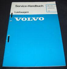 Werkstatthandbuch Volvo LKW Typ FL6 Luftfederung Stand Dezember 1985!