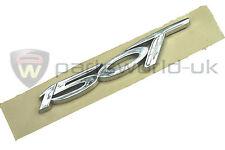 Brand new Genuine Fiat Bravo chrome effect 150T T-Jet badge / emblem 46003450