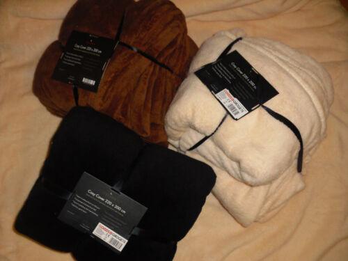 Kuscheldecke XXL Wohndecke Decke Coralfleece in grau aus Kundenretouren