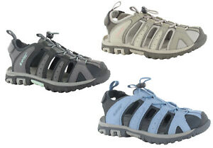 23f315744 Image is loading Hi-tec-Walking-Sandals-Closed-Toe-Womens-Slingback-