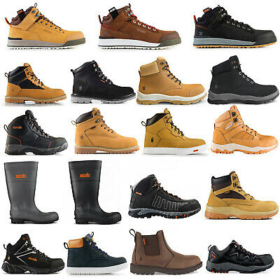 Scruffs Safety Work Boots Trainers