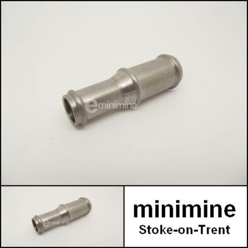 """Classic Mini conector de la manguera de 1//2/"""" a 5//8/"""" de aceite y las tuberías tubo de acero inoxidable"""