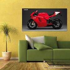 DUCATI DESMOSEDICI RR BIKE MOTORCYCLE LARGE SPORT BIKE HD POSTER 24x48 in