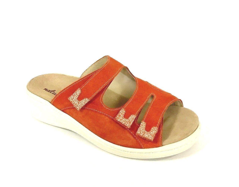 e6b7d073c3825 Zapatos sandalia es sandalias de cuero velcro de naturaleza alfil (8) ancho  h nuevo