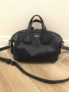 22000b281c58 Image is loading Givenchy-Nightingale-Micro-in-Grained-Leather-Satchel-Bag-