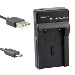 2e20b5caa651 DSTE UDC40 Camera Battery USB Charger for Samsung SB-LSM80 SB-LSM160 ...