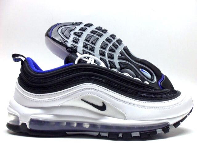 buy popular d8483 5b29f NIKE AIR MAX 97 WHITE BLACK-PERSIAN VIOLET SIZE MEN S 10  921826-