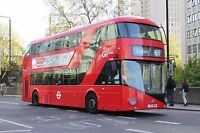 New bus for London - Borismaster LT686 6x4 Quality Bus Photo