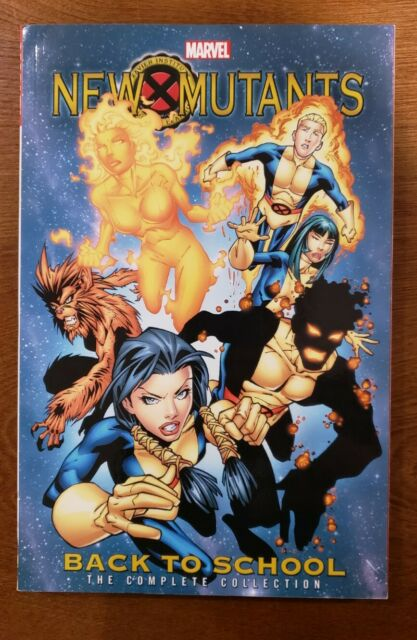 New Mutants: Back to School Complete Collection Marvel Comics TPB GN SC OOP NEW