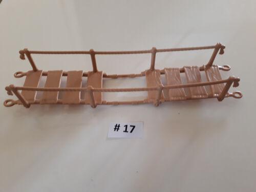 PLAYMOBIL ponte sospeso 3016, 3097, 7272, 7271 giungla pezzo di ricambio Pirata Western