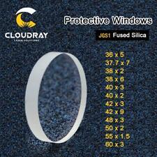 Laser Protective Windows Quartz Fused Silica For Fiber Laser 1064nm P0595 58601