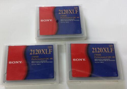 Sony QD 2120 XLF 170MB mini data cartridge NIB