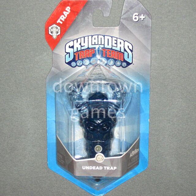 """UNDEAD SKULL TRAP Skylanders Trap Team NEW SEALED """"Spectral Skull"""""""