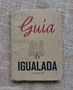 Guia-de-Igualada-1950-Antonio-Carner-Pedro-Morera-Tapa-blanda