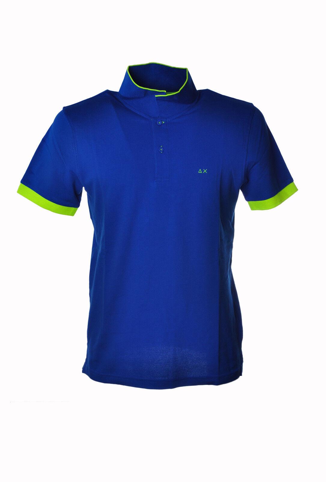 Sun 68 - Topwear Polo - Mann - blue - 3210415G184609