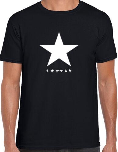 David Bowie Blackstar T-Shirt Album Tribute Ziggy Heroes Memory Stardust Gift