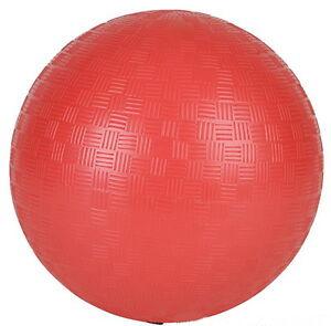 "10 NEW KICKBALL DODGE BALLS SOCCER RED 9"" PVC PLAYGROUND RECREATION PARTY BALL"