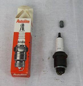 Autolite 314 Spark Plug Nos Vintage Plug Cross Reference Champion