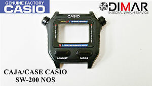 Watches, Parts & Accessories Helpful Vintage Case/boÎte Casio Sw-200 Nos To Win Warm Praise From Customers