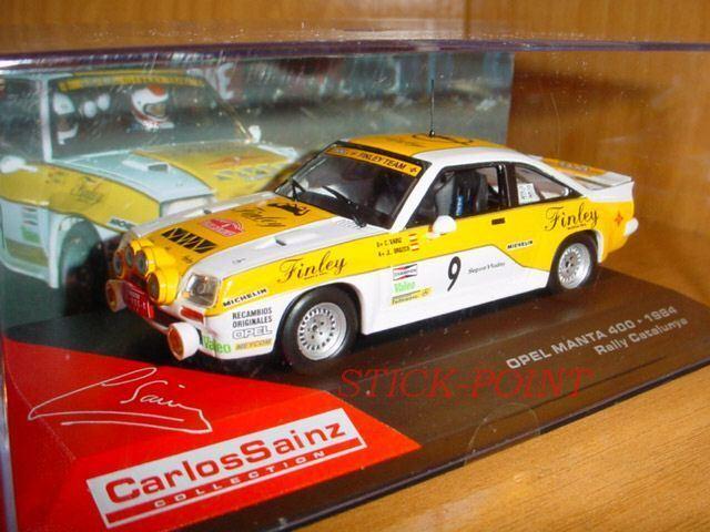 Opel manta 400 carlos sainz 1 43 rallye  catalunya 1984  rallye  9. 46967c