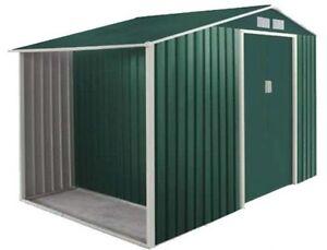 Casetta Giardino In Lamiera : Box capanno casetta ricovero attrezzi giardino in lamiera