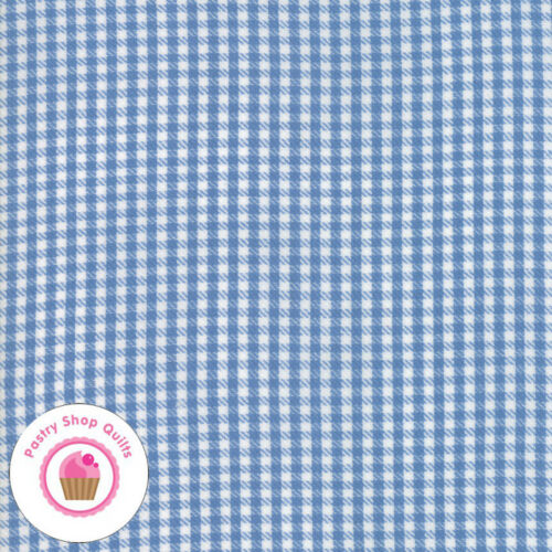 Moda OXFORD WOVENS 5715 20 Blue Chambray Twill Check SWEETWATER Quilt Fabric