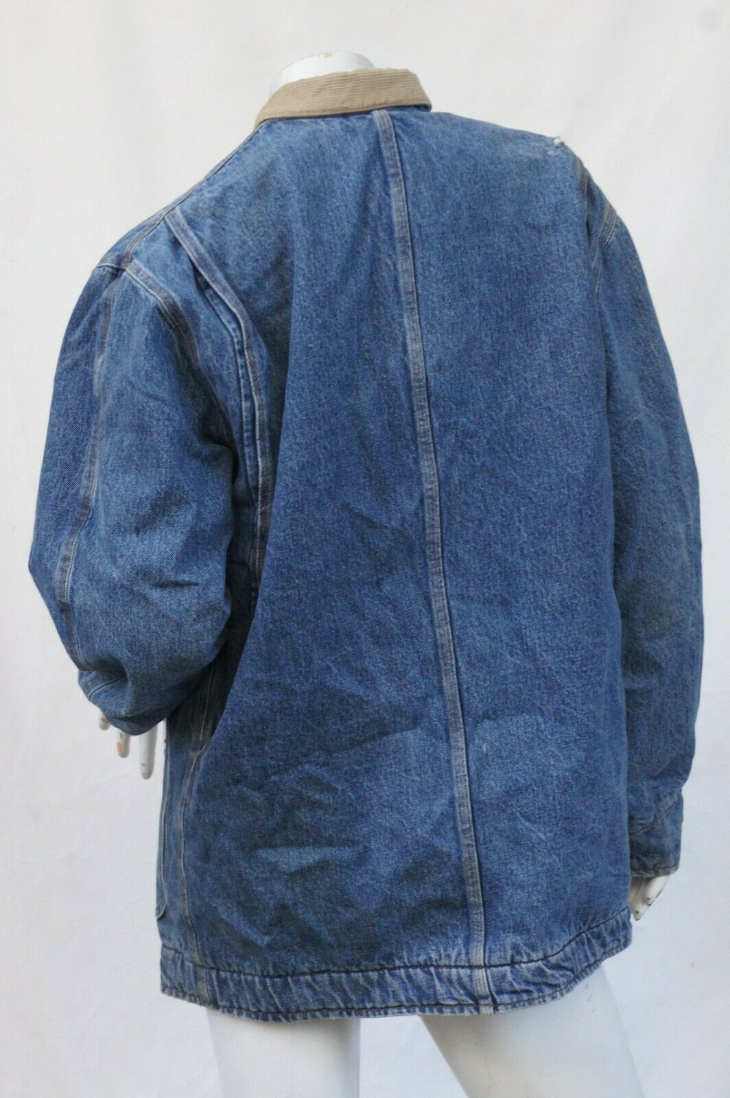 Vintage 80s Men's Ralph Lauren Polo Jean Jacket - image 4