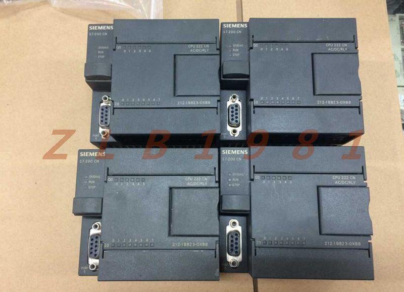 ONE SIEMENS USED- 6ES7212-1BB23-0XB0 6ES7 212-1BB23-0XB0