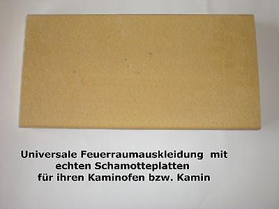 """/""""Echte Schamottplatten/""""  keine altenativen echte Schamotte Schamottstein Platte"""