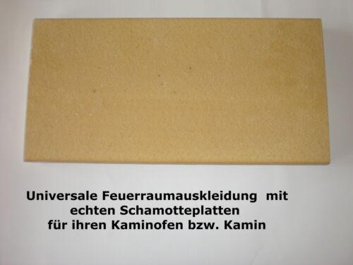 Fachhandels Schamotteplatten Schamotte Schamottstein Schamottplatte Kaminofen