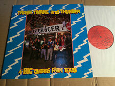 4 BIG GUITARS FROM TEXAS - TRASH TWANG AND THUNDER - LP - FIEND 40 - UK 1985