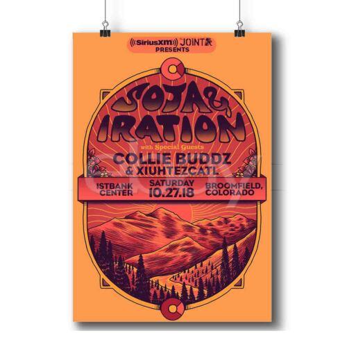 SOJA /& Iration Custom Poster Print Art Wall Decor