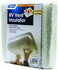 2 pack 14/'/' RV Reflector//Insulating Sun-Shield Vent Camco E-Z Store w//zipper