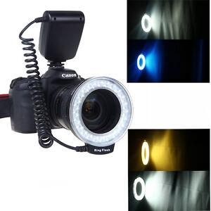Neewer 48pcs RF-550D LED Macro Ring Flash Light For Canon Nikon Pentax Olympus