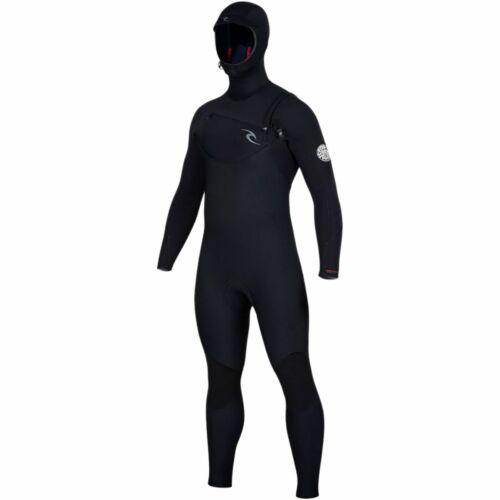 Rip Curl Dawn Patrol 5//4 Hooded Chest-Zip Wetsuit Men/'s