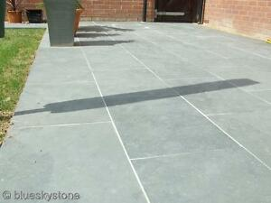 Grey Slate Paving Patio amp Garden Tiles not slabs  1728m2 18m2 inc del - <span itemprop=availableAtOrFrom>Bedfordshire, United Kingdom</span> - Please refer to our website www.blueskystone.com, or the item listing if specifically detailed. - Bedfordshire, United Kingdom