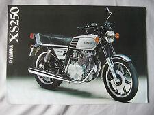1978 Yamaha XS250 Brochure