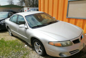 2002 Pontiac Bonneville, running well, non-safetied
