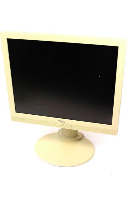 "FUJITSU SIEMENS ScenicView A19-2A 48 cm 19"" 5:4 LCD Monitor Flachbildschirm GRAU"