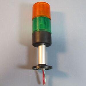 Telemecanique Stack Light Signal Tower XVMC33 XVMC35 Green Orange Red #01F53