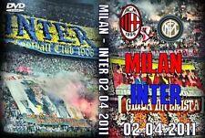 DVD MILAN-INTER 2011---------CURVA SUD MILANO,AC MILAN 1899,CN69