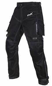 Black Men Motorcycle Pants Waterproof Biker Riding Overpants ARMORED Styled