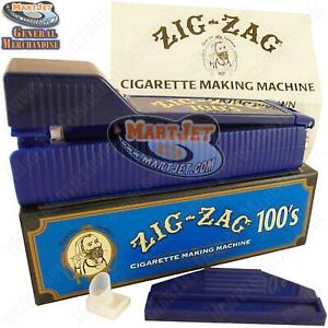 Zig-Zag 100MM Cigarette Maker Rolling Making Tobacco Injector Machine Long 100s
