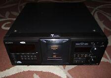 Sony Mega Storage 400 CD Changer / Player Model # CDP-M555ES *Works Great*