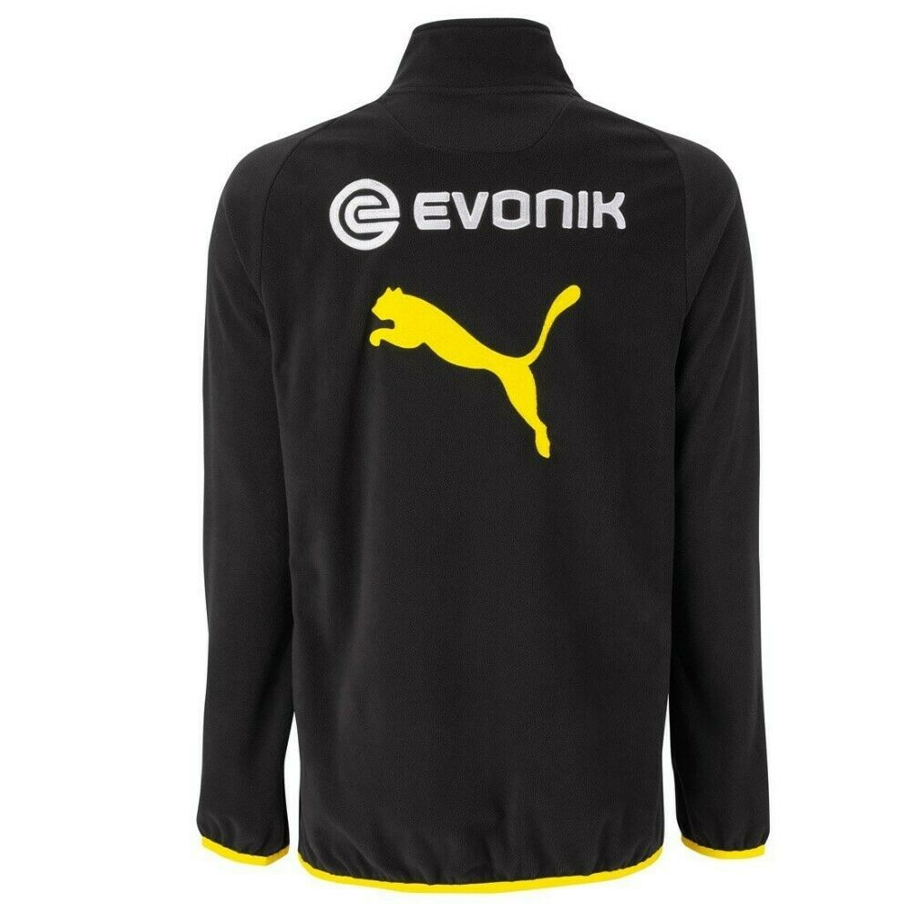 Puma BVB BVB BVB Fanartikel Borussia Dortmund Herren Fleecejacke Jacke Fleece Top 3ad1af