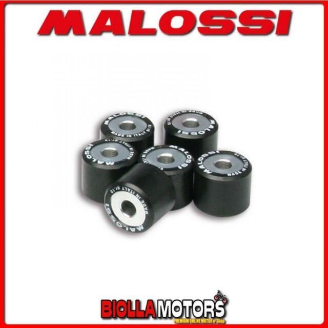 60755 MALOSSI 6 Rodillos Malossi HTRoll /Ø20x17 gr.08,5 /Ø20X17 GR.08,5 6611095.E0