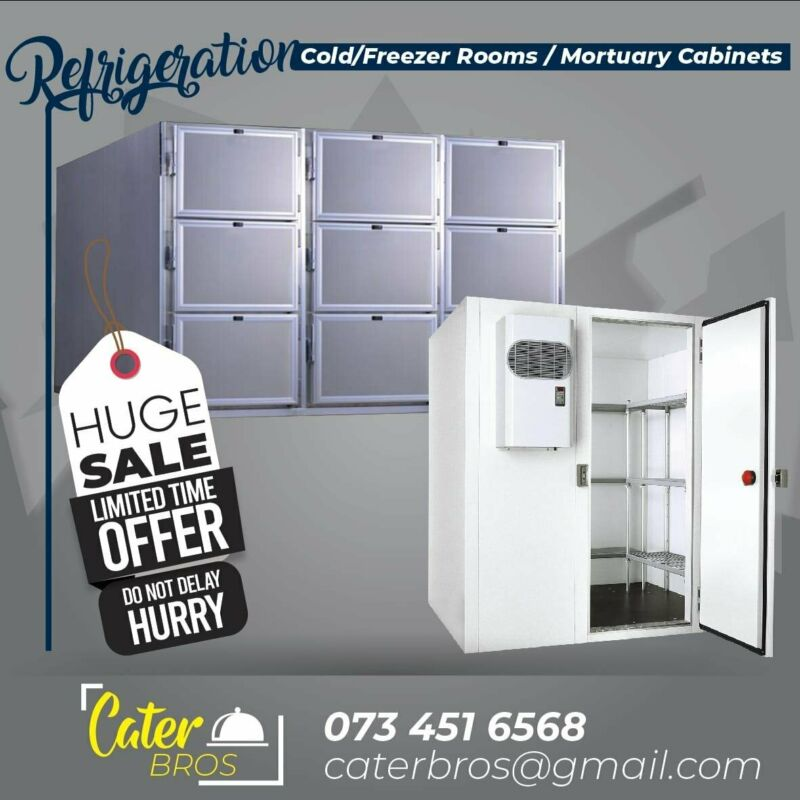 MORTUARY ROOMS/ COLD ROOMS/FREEZER ROOMS